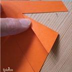 Cách làm chong chóng giấy 6 cánh quay quay trong gió
