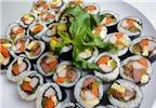 Cách làm cơm cuộn rong biển ngon ăn hoài chẳng chán