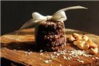 Cách làm cookies yến mạch vị socola