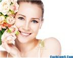 Cách làm da mặt trắng hồng mịn màng tự nhiên