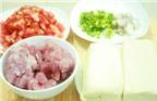 Cách làm đậu nhồi thịt sốt cà chua ngon tuyệt