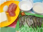 Cách làm đậu phụ bao tôm chiên