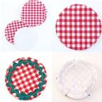 Cách làm đế lót ly từ vải vụn tô điểm cho bàn ăn
