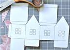 Cách làm đèn lồng hình ngôi nhà đơn giản cho tết trung thu