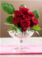 Cách làm đẹp nhà cực hấp dẫn từ hoa hồng