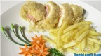 Cách làm gà chiên phô mai thơm ngon, đặc biệt