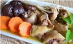 Cách làm gà hầm nấm hương – nấm đông cô bổ dưỡng tẩm bổ gia đình