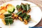 Cách làm gà nướng lá chanh món ngon, dễ làm