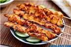 Cách làm gà xiên nướng thơm ngon, chắc thịt rất hấp dẫn