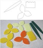 Cách làm hoa bằng vải để trang trí tổ ấm thân yêu