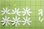 Cách làm hoa giấy siêu đẹp mà cực kì đơn giản