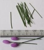 Cách làm hoa oải hương từ đất sét cực đẹp mà đơn giản