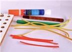 Cách làm hoa tai handmade từ giấy cuộn