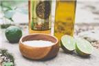 Cách làm hỗn hợp tẩy da chết từ muối và tequila