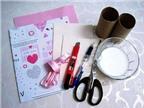 Cách làm hộp đựng quà siêu đơn giản cho ngày Valentine