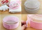 Cách làm hộp quà hình bánh gato độc đáo từ hộp nhựa