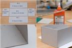 Cách làm hộp quà siêu xinh từ giấy