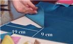 Cách làm kẹp nơ bằng vải và ruy băng