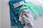 Cách làm khăn quàng bông tuyết ấm áp đón Giáng sinh