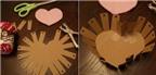 Cách làm khay đựng đồ hình trái tim cực yêu