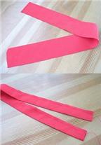 Cách làm khung ảnh trái tim hoa hồng bằng vải xinh xắn