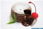Cách làm lava cake ngon như thợ bánh
