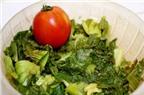 Cách làm mâm cơm với canh dưa chua và cá rán