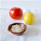 Cách làm mặt nạ cà chua cho da hết nhờn, hết mụn