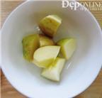 Cách làm mặt nạ táo cho da nhờn
