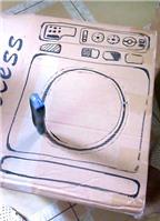 Cách làm máy giặt handmade để làm đồ chơi cho bé