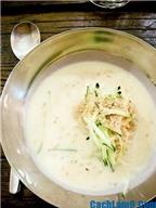 Cách làm mì sữa đậu nành Hàn Quốc ngon tuyệt