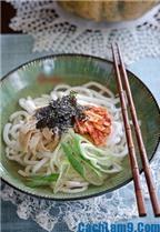 Cách làm mì Udon kim chi thơm ngon, đặc biệt