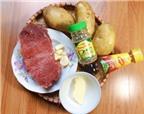 Cách làm món bò lúc lắc, khoai tây cực hấp dẫn