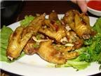 Cách làm món chân gà chiên nước mắm, chân gà nướng muối ớt ngon tại nhà