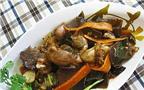 Cách làm món ếch xào lăn ngon tuyệt hảo