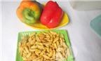 Cách làm món nhộng xào ớt chuông ngày thu