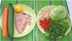 Cách làm món nộm gà rán cực kỳ đơn giản
