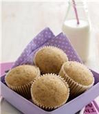 Cách làm muffin chuối không cần lò nướng