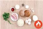 Cách Làm Nấm Mỡ Nhồi Thịt Băm Bỏ Lò