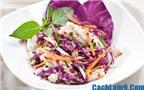 Cách làm nộm bắp cải mực khô cực ngon, dễ ăn