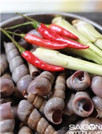 Cách làm ốc xào sả ớt thơm nồng, hấp dẫn
