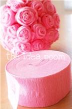 Cách làm quả bóng hoa hồng tình yêu