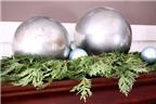 Cách làm quả cầu thủy tinh trang trí Noel