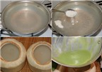 Cách làm rau câu dừa dứa tuyệt ngon