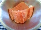 Cách làm ruốc cá hồi bổ dưỡng dành cho các bé yêu gửi các bà nội trợ