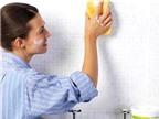 Cách làm sạch bóng sàn và tường nhà vệ sinh
