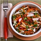 Cách làm salad củ đậu cà rốt