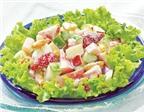 Cách làm salad hoa quả tươi đơn giản mà ngon