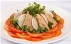 Cách làm salad thịt bò cải xoong thanh mát