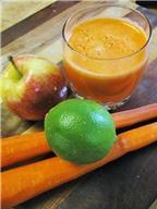 Cách làm sinh tố cà rốt giảm cân ngày Tết